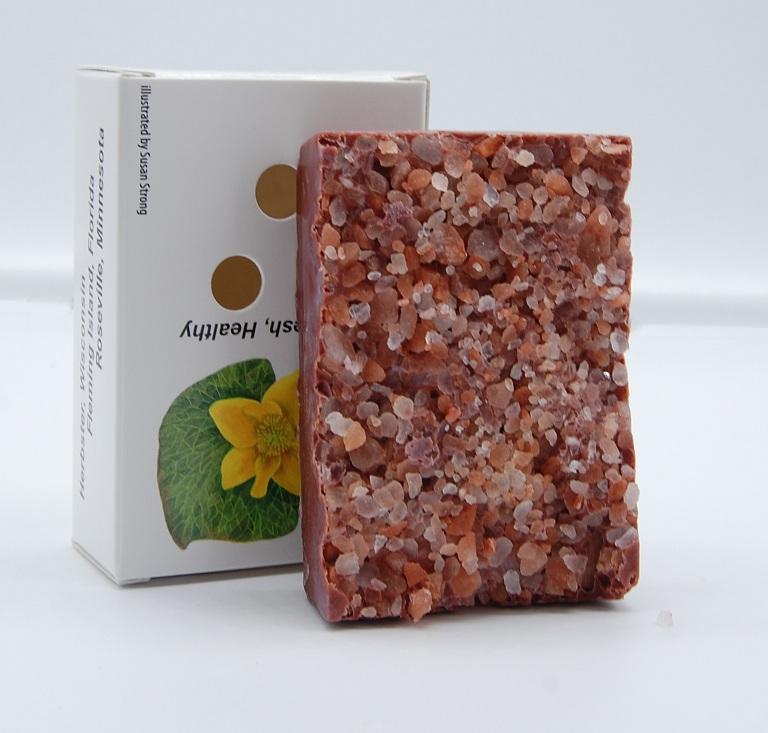 Pink Grapefruit Himalayan Salt Soap2